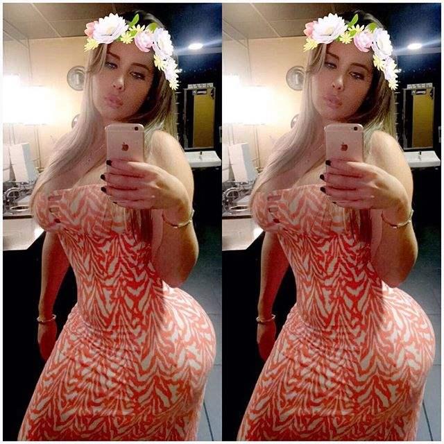 cubana da bunda enorme comparada Kim Kardashian