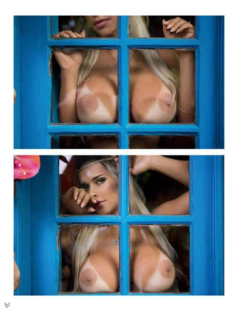 Loira rabuda e gostosa Rafaela Ravena pelada em fotos nuas 021