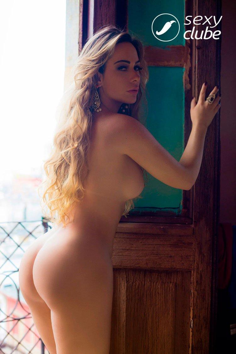 Juliana Isen nua pelada na Sexy Clube 022