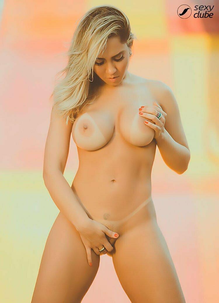Mulher Melão Pelada Renata Frisson nua Sexy Clube 012