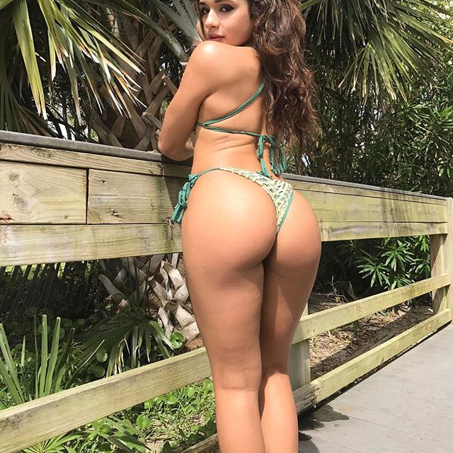 Ashley Ortiz novinha rabuda de biquíni 044