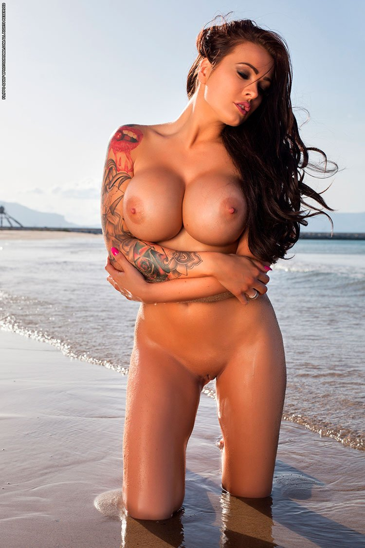 Opinion Hot girls big boobs nude beach consider