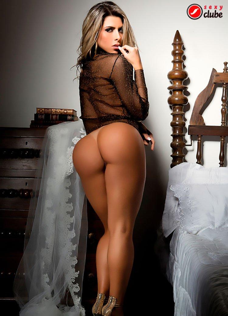 Ana Paula Minerato pelada Ex-Panicat Nua na Sexy Clube 020