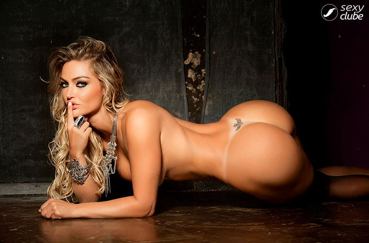 Atriz Laura Keller pelada loira bucetuda nua na Sexy Clube 015