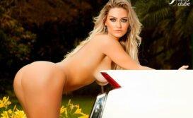 Atriz Laura Keller pelada loira bucetuda nua na Sexy Clube