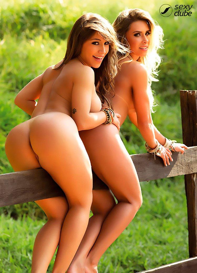 Legendetes Fiama Amorim e Alessandra peladas na Sexy Clube 029