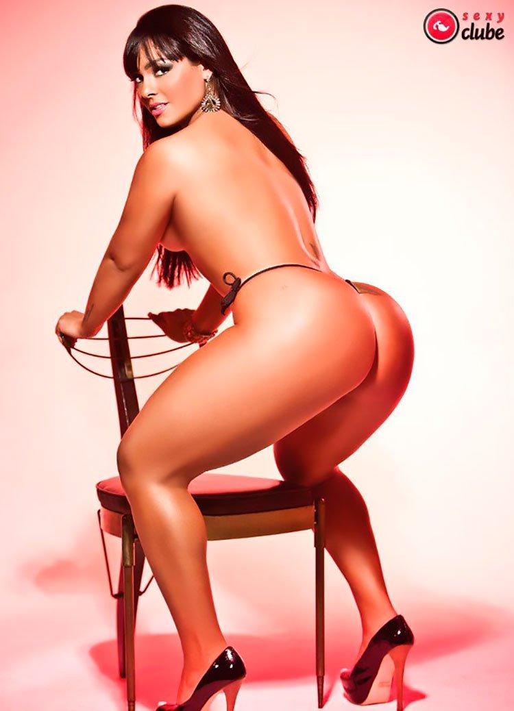 Mulher melancia nua Andressa Soares Pelada na Sexy Clube 003