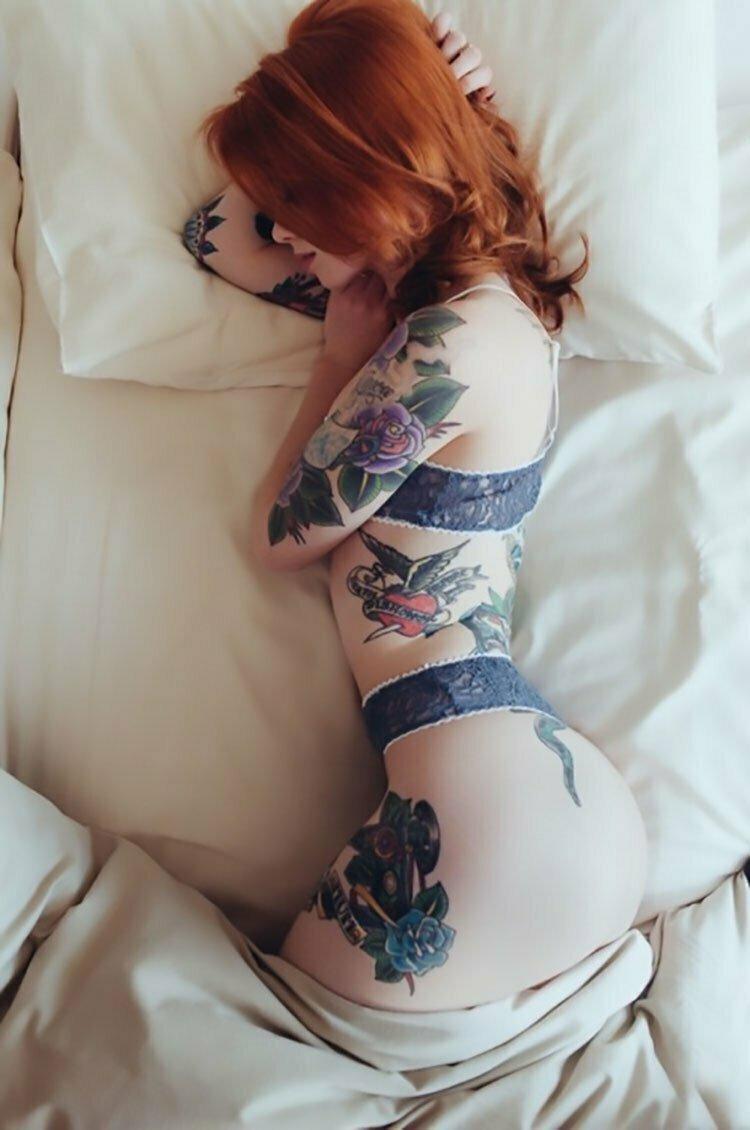 Mulheres Tatuadas 30 fotos com mulheres lindas tatuadas 002