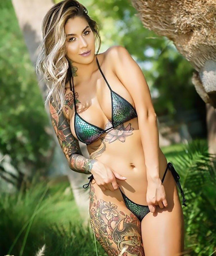 Mulheres Tatuadas 30 fotos com mulheres lindas tatuadas 007