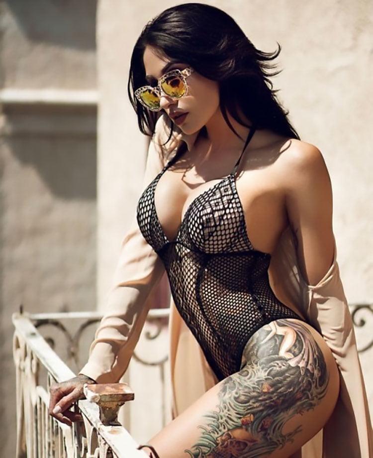 Mulheres Tatuadas 30 fotos com mulheres lindas tatuadas 014