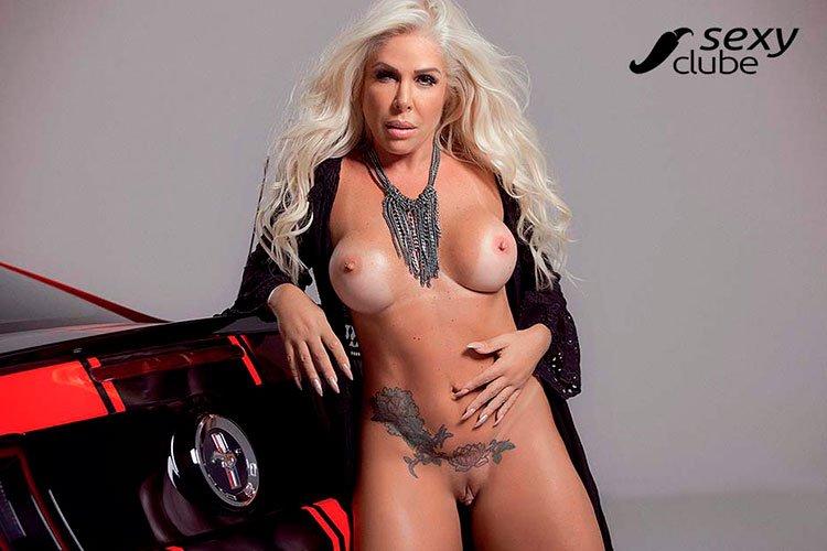 Rosana Menezes pelada coroa gostosa nua na Sexy Clube 010