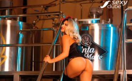 Raissa Barbosa nua Vice Miss Bumbum pelada na Sexy Clube