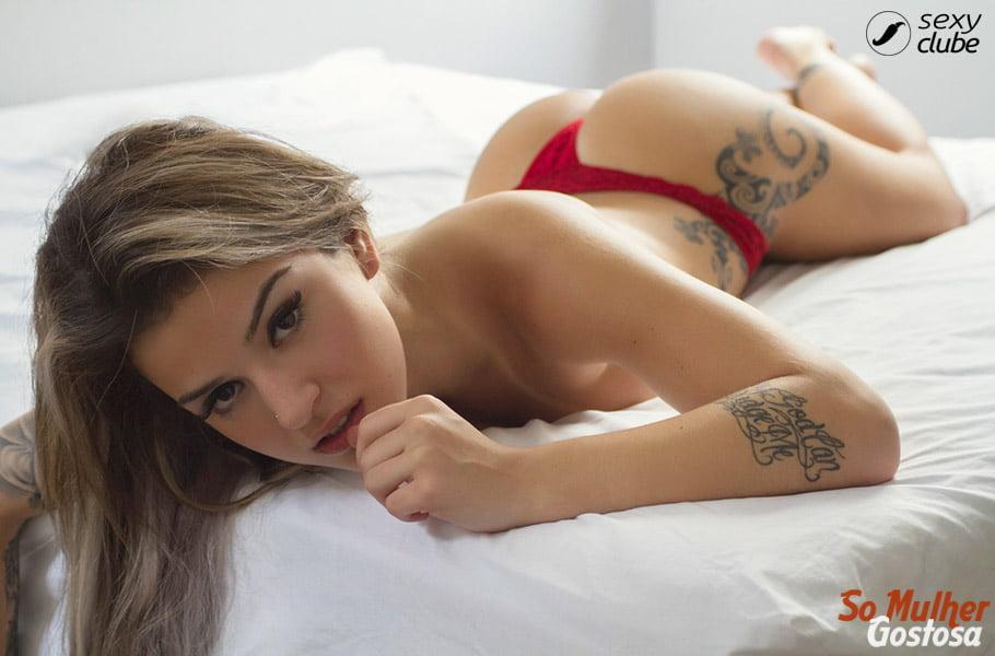 Bruna Hollinger nua pelada mostrando sua buceta 18