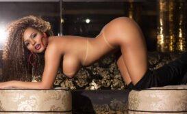 Ex-Miss BumbumErika Canela em fotos nuas exibindo os peitões