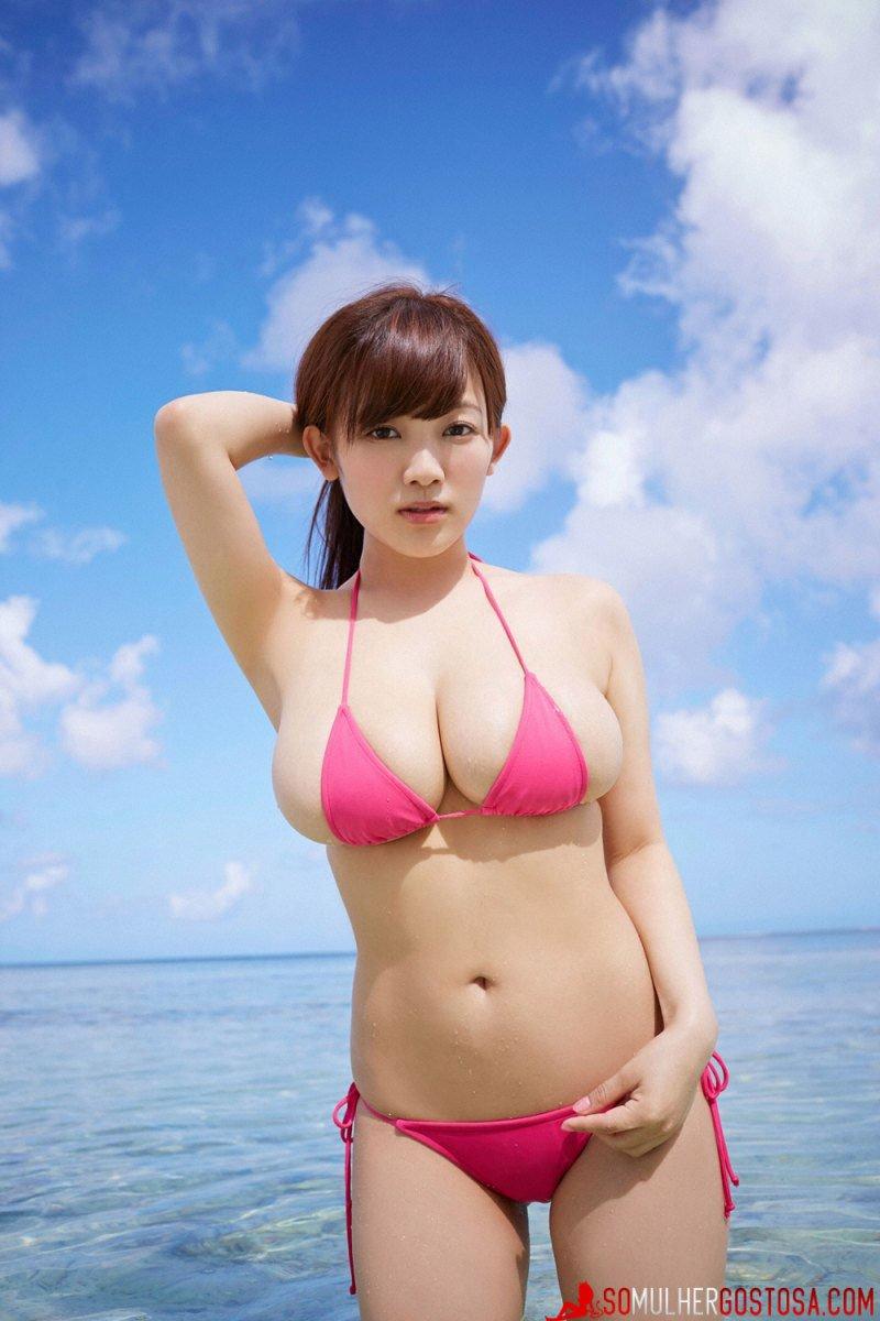 Jun Amaki japinha peituda muito sexy