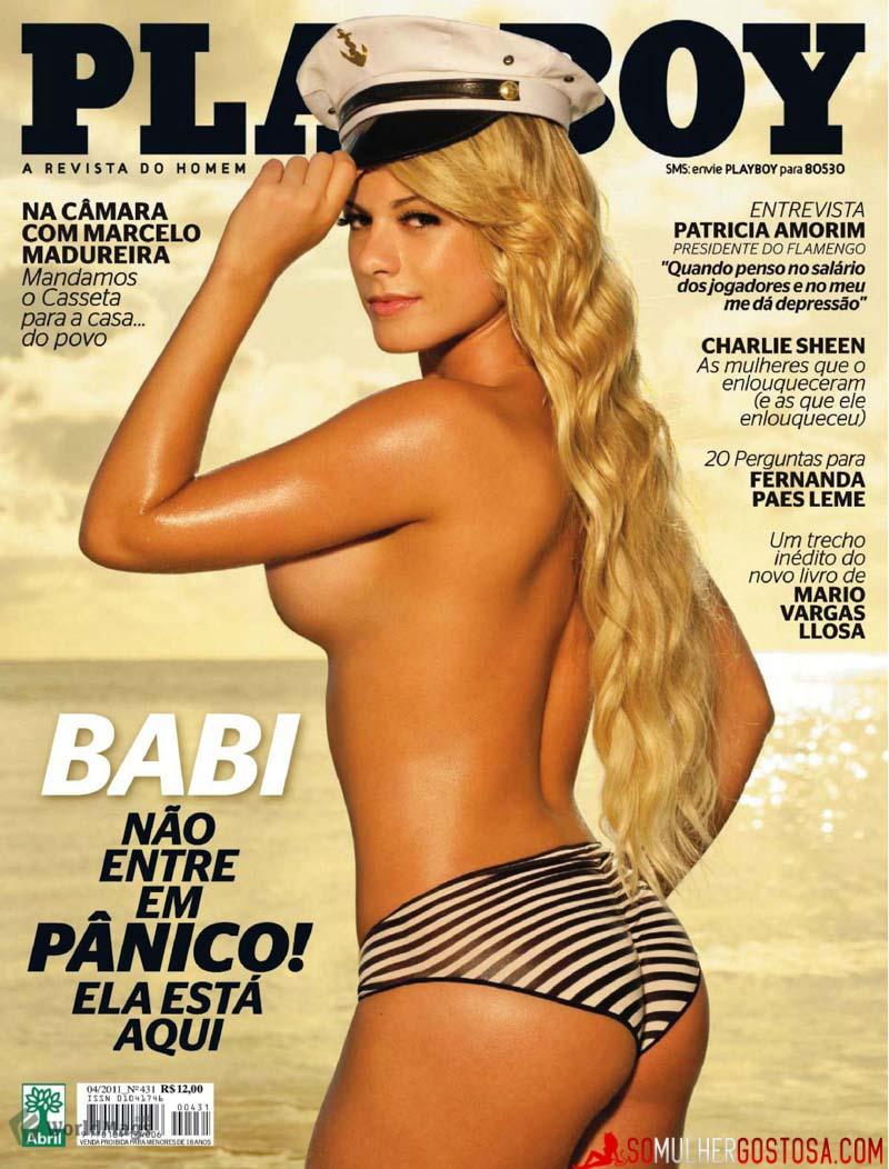 Ex-Panicat Babi Rossi nua pelada mostrando buceta gostosa